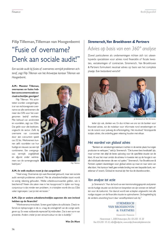 ontslagbrief aan wie richten Antwerpen Manager 46 by Manager Magazines   issuu ontslagbrief aan wie richten