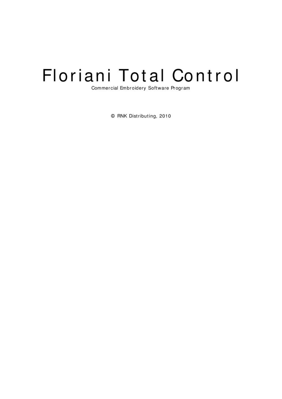 Floriani total control manual by dj anderson issuu nvjuhfo Choice Image