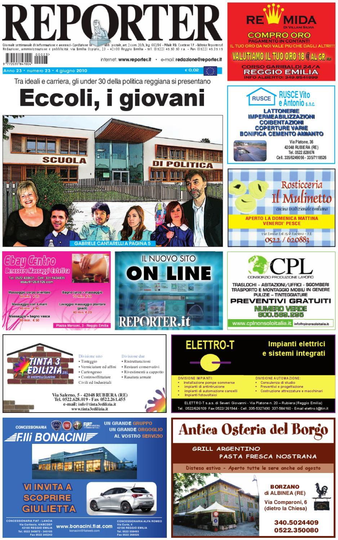 Bagno Moderno Di Pedrelli Filippo.Reporter Giornale 4 Giugno 2010 By Reporter Issuu