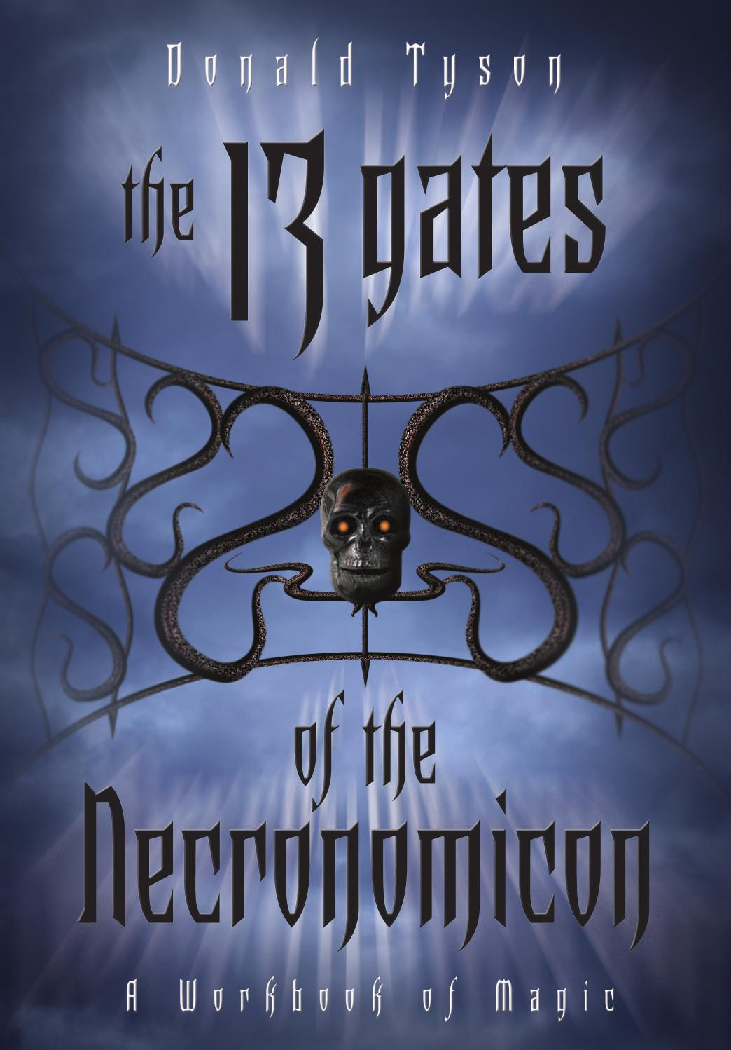 The 13 Gates of the Necronomicon by Donald Tyson by