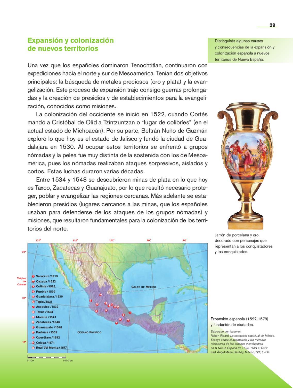 Historia 4to grado bloques 3 4 y 5 by rar muri issuu for Villas que fundo nuno beltran de guzman en el occidente de mexico