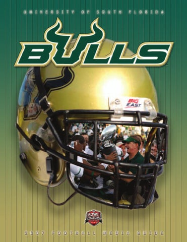 2007 USF Football Media Guide by USF Bulls Athletics - issuu 358afa67d