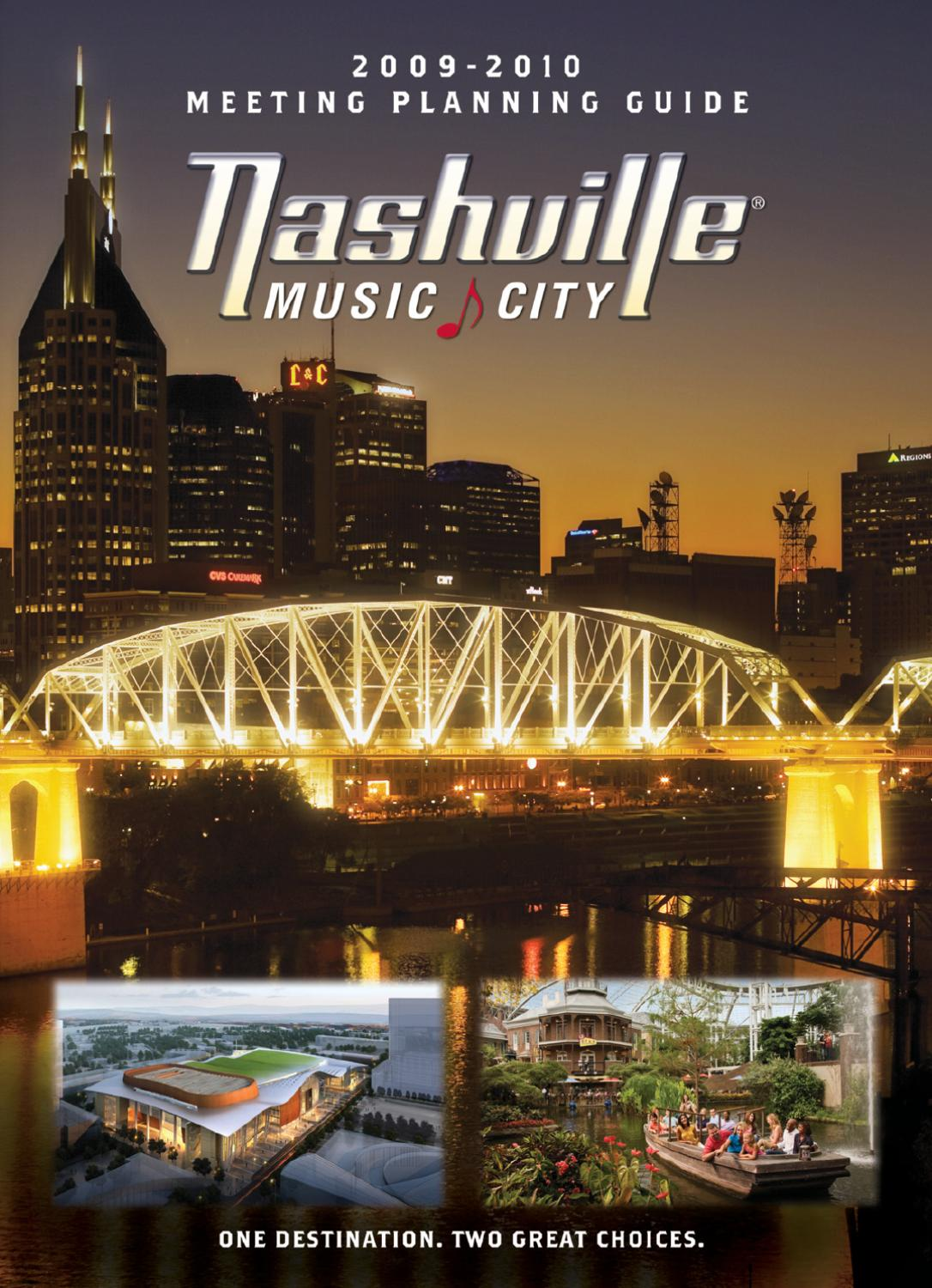 Nashville Meeting Planning Guide 2009-2010 by Journal Communications ...