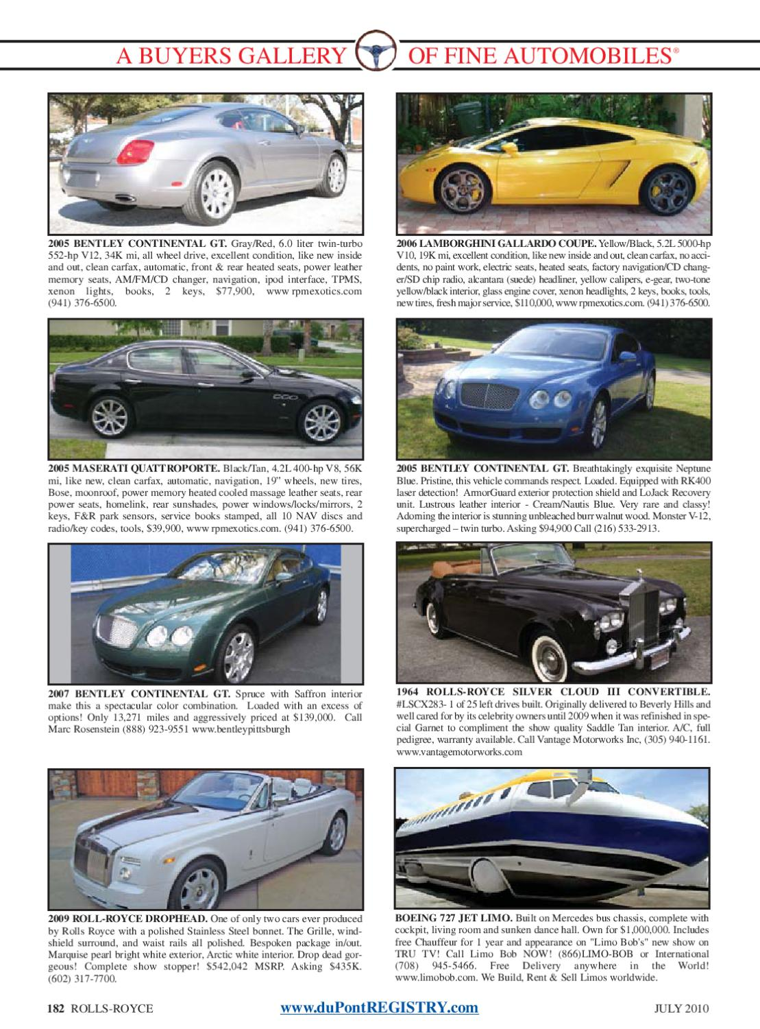 duPontREGISTRY Autos July 2010 by duPont REGISTRY - issuu