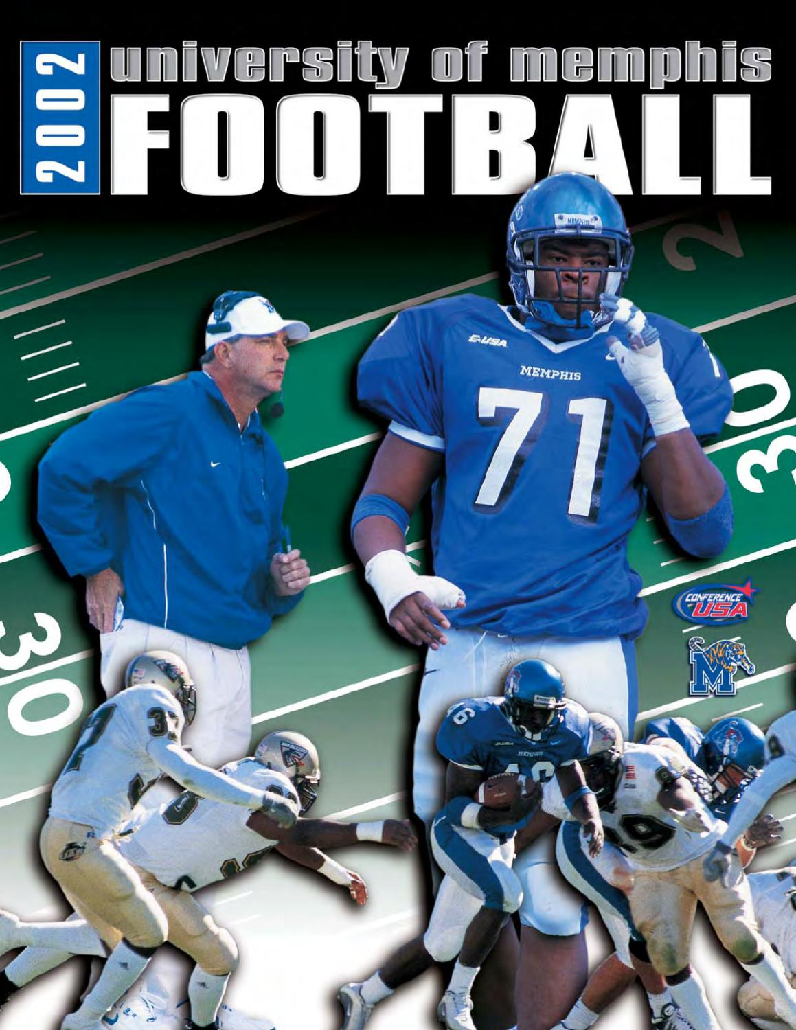 2002 Memphis Football Media Guide by University of Memphis Athletic Media  Relations - issuu 9e2089f21