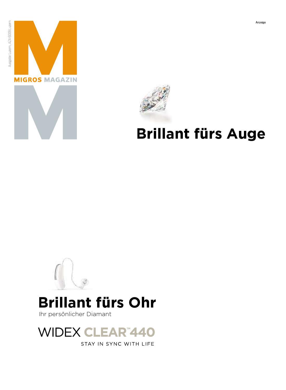 Migros Magazin 23 2010 d LU by Migros-Genossenschafts-Bund - issuu
