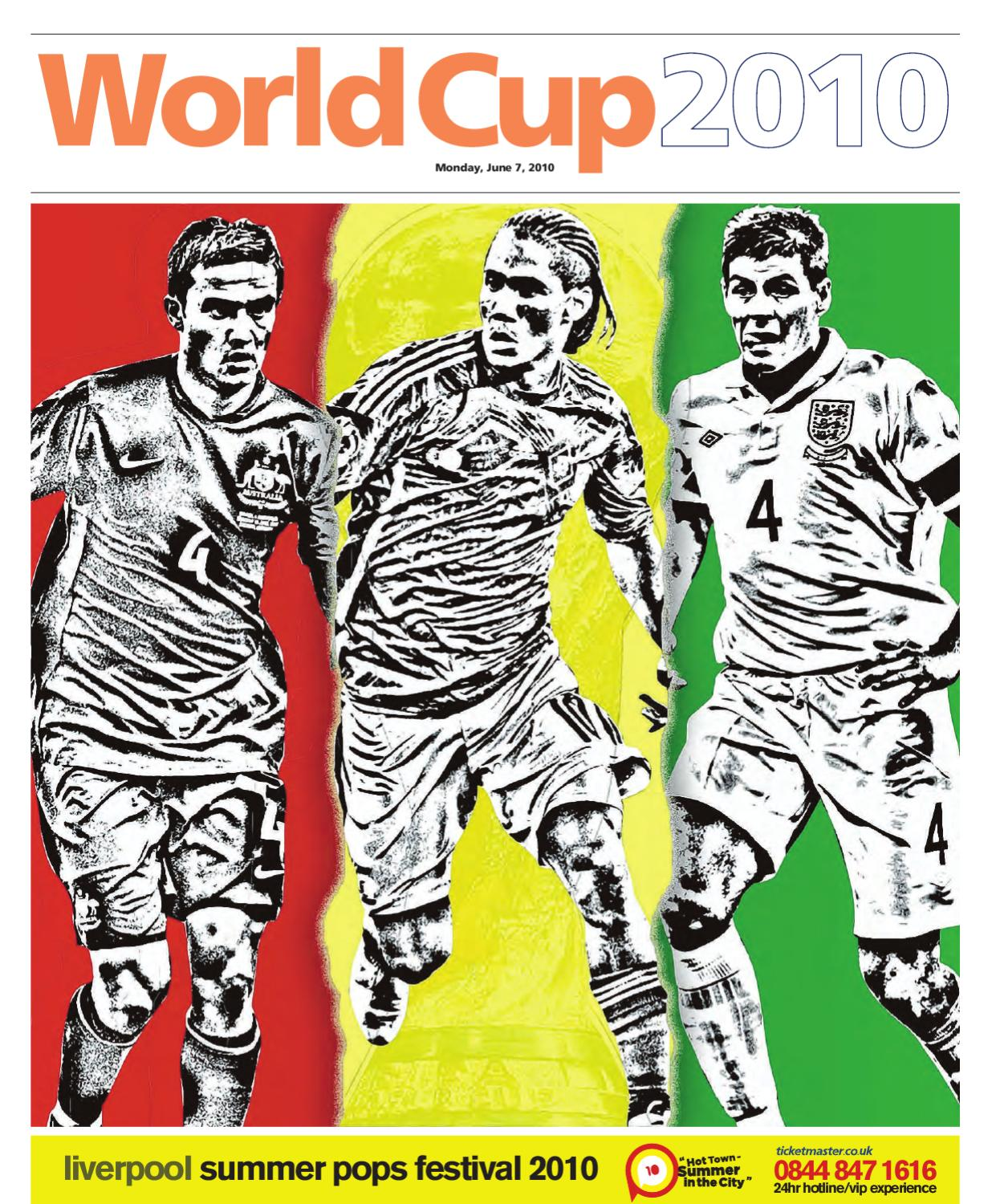 7ea49f5eb World Cup 2010 Preview - Liverpool Daily Post by Liverpool Post   Echo -  issuu