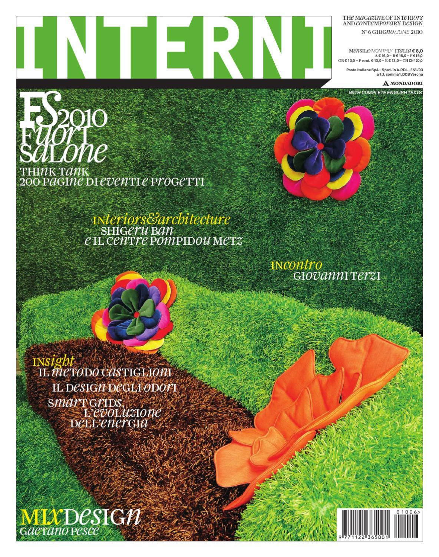 interni magazine 602 - june / giugno 2010 by interni magazine - issuu - Gazebo Unico Progetta Impresa Stecca Balaustra
