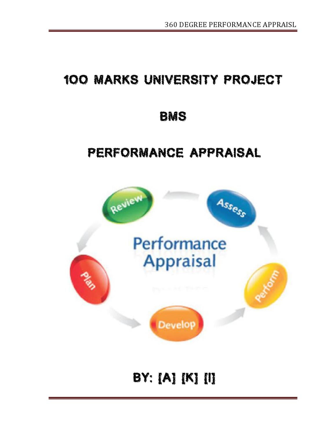 performance appraisal and review at the