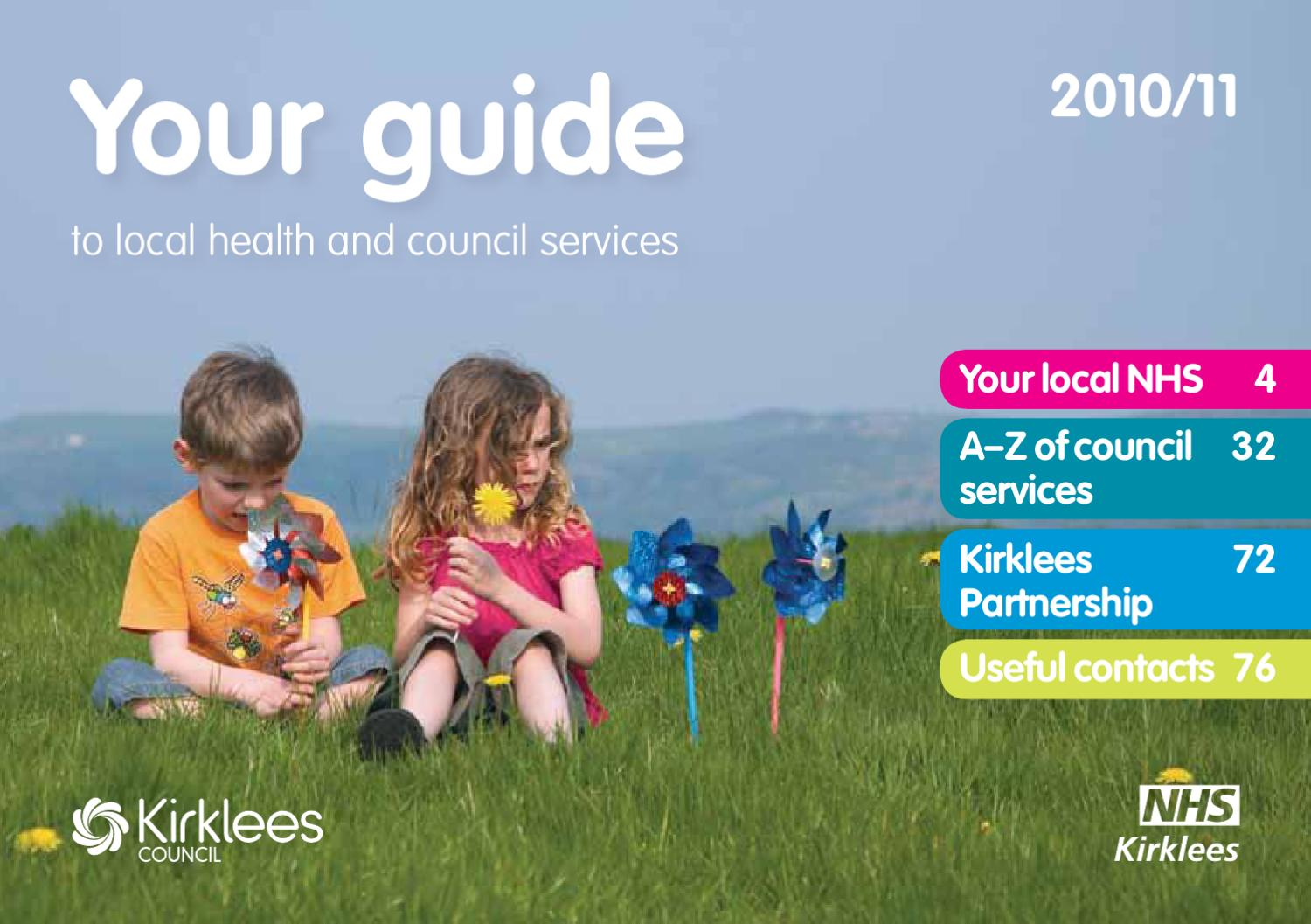 Your_guide_to_local_health_and_council_s  By Nhs Kirklees  Issuu