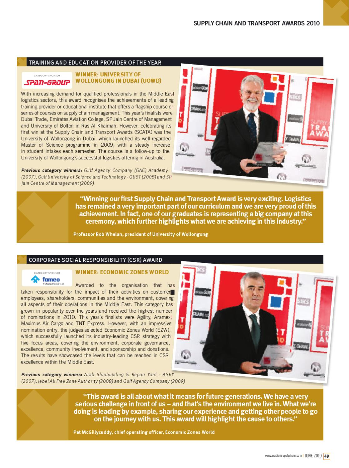 Logistics Middle East - June 2010 by ITP Business Publishing