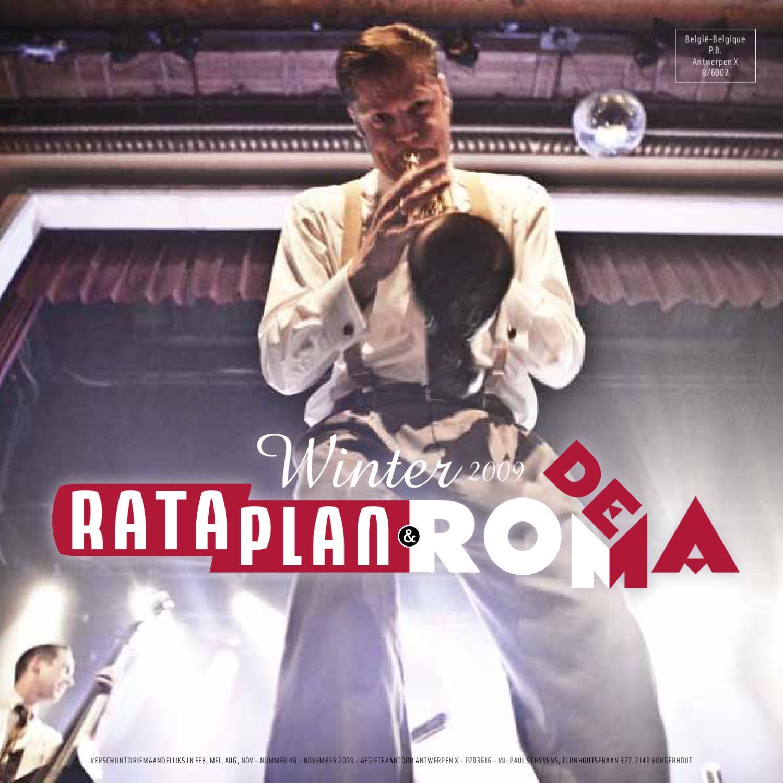 207e6ede429 Rataplan & De Roma Nieuwsbrief 48 - winter 2009