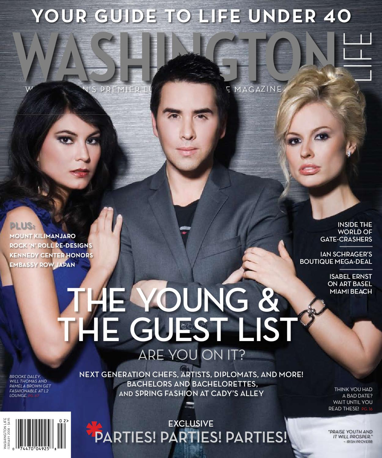 Washington February Magazine 2008 By Life 0xTrzn0wAq