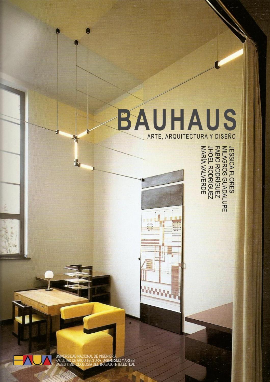 Bauhaus Diseño Arte Y Arquitectura By Fabio Rodríguez Issuu