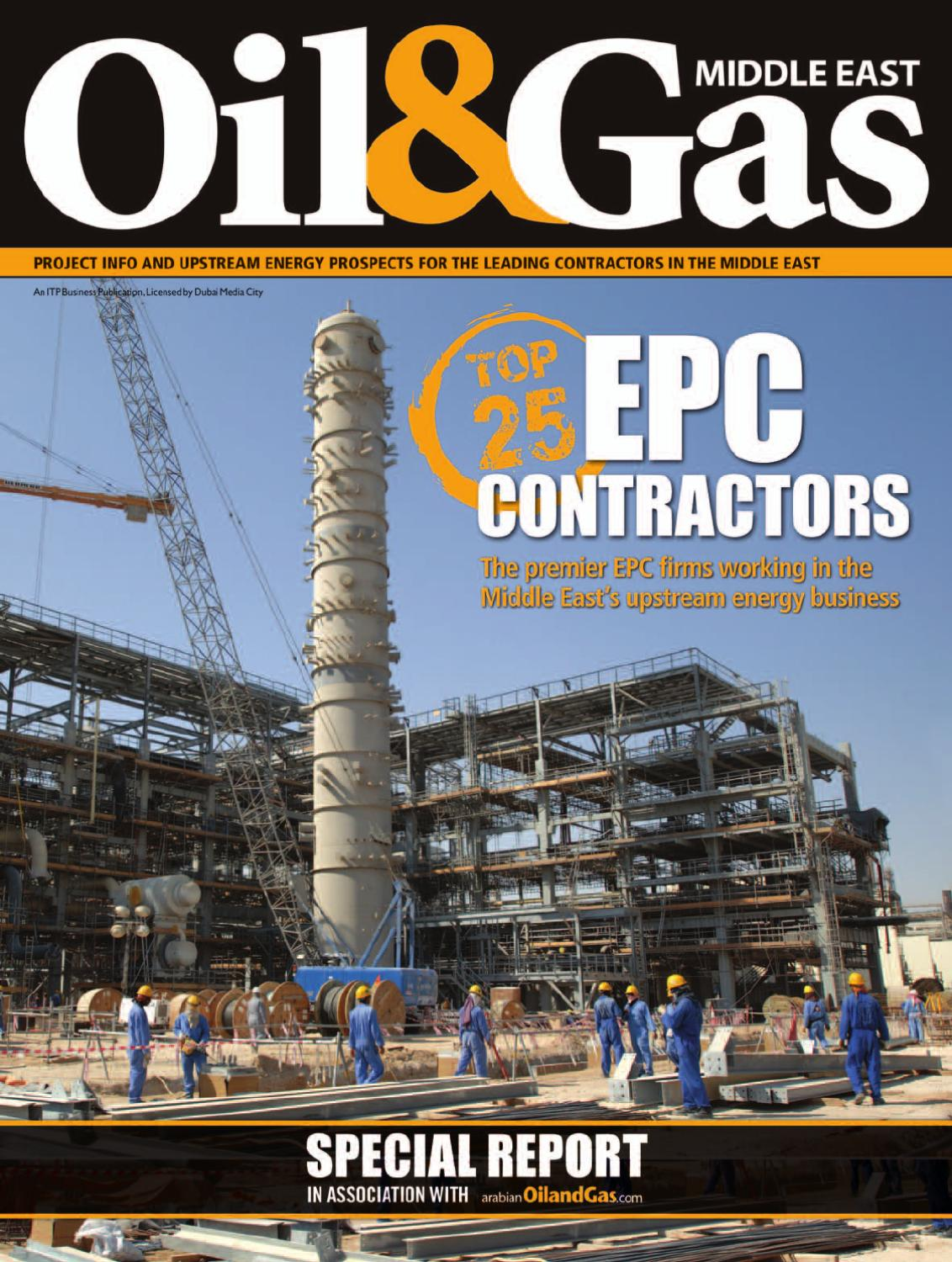 Oil & Gas Middle East - EPC Contractors Special Report