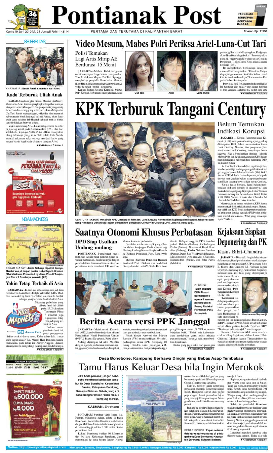 Pontianak Post by Pontianak Post - issuu 5469234a92