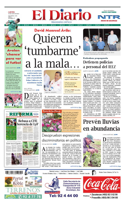 buy popular c1dc6 3ef66 El Diario NTR by NTR Medios de Comunicación - issuu