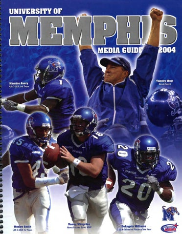 2004 Memphis Football Media Guide by University of Memphis Athletic ... 9e8069f76