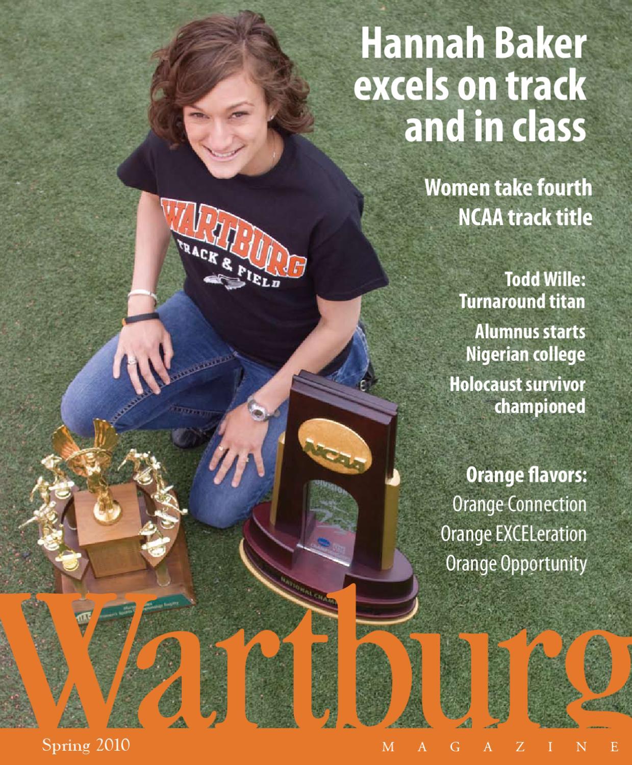 Spring 2010 Wartburg Magazine by Chris Knudson - issuu