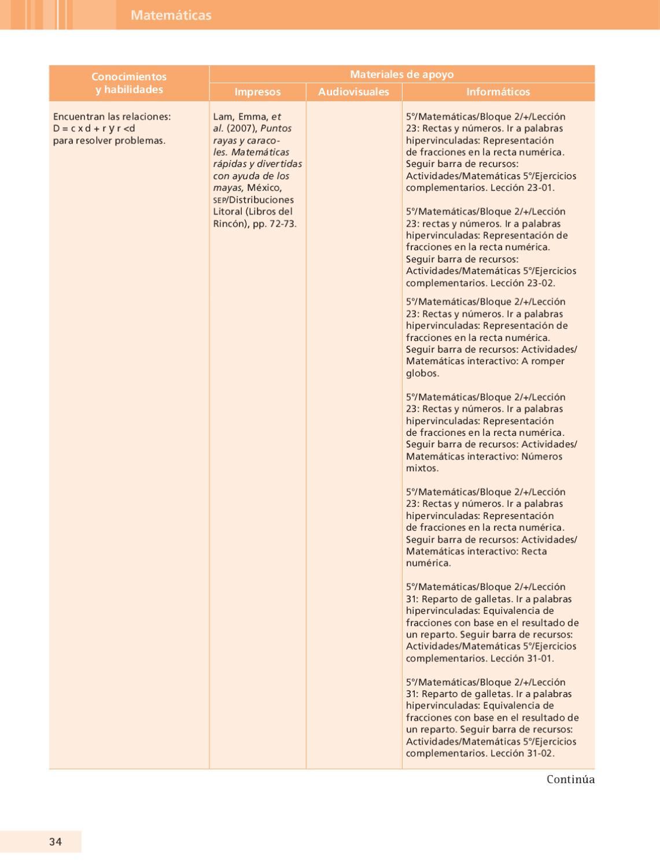 Guia Articuladora de Materiales 5to. GRado by Rarámuri - issuu
