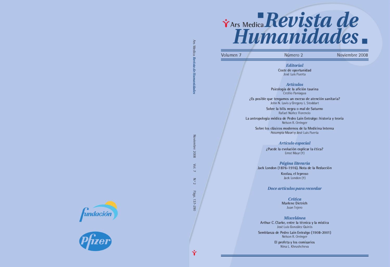 Dendra Medica / Ars Medica Vol. 7, Num. 2 by Jose Manuel Perez Rua ...