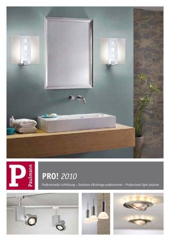 20 x 20cm 1 x e14 verre mat support chrome Trio mural