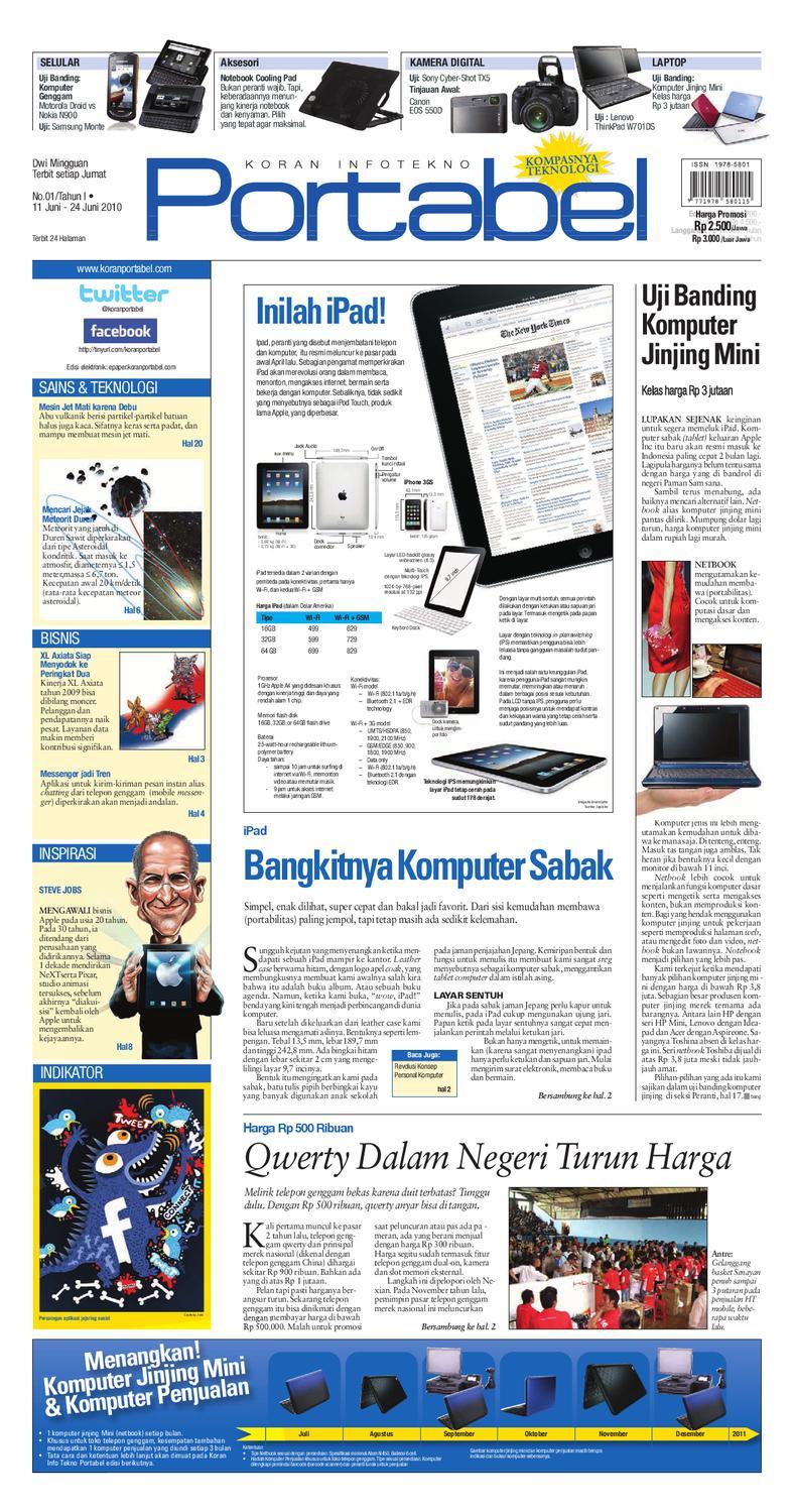 Koran Portabel By Sarana Media Issuu Stand Hp Handphone Mount Docking Aksesoris Model Paus  Kcr009
