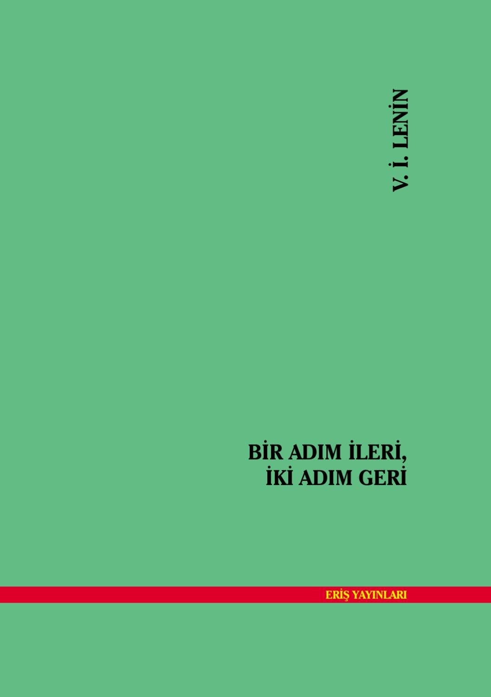 Turkce Ekitap Lenin Bir Adim Ileri Iki Adim Geri By Bahar
