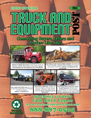 Truck And Equipment Post - Issue #24-25, 2010 by 1ClickAway - issuu
