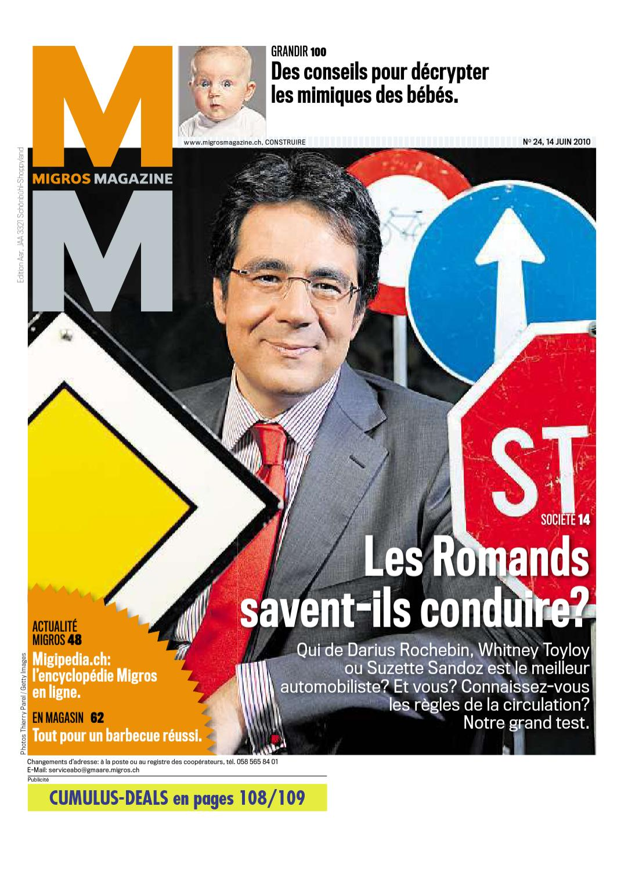 Migros Magazin 24 2010 f AA by Migros-Genossenschafts-Bund - issuu afb3c2e8172