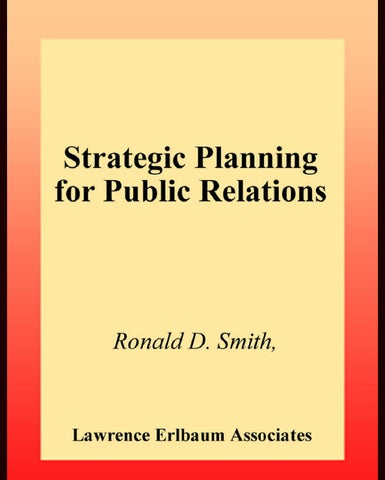 Smith strategic planning in pr by dainis guks issuu page 1 fandeluxe Images
