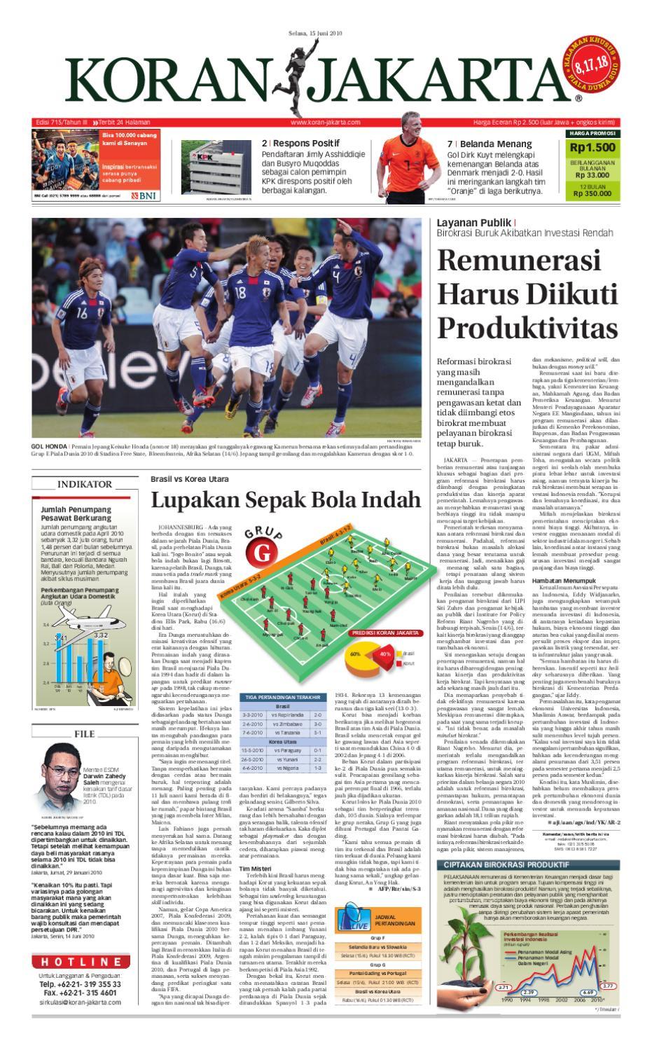 Edisi 715 15 Juni 2010 By Pt Berita Nusantara Issuu Produk Ukm Bumn Wisata Mewah Bali 3hr 2mlm