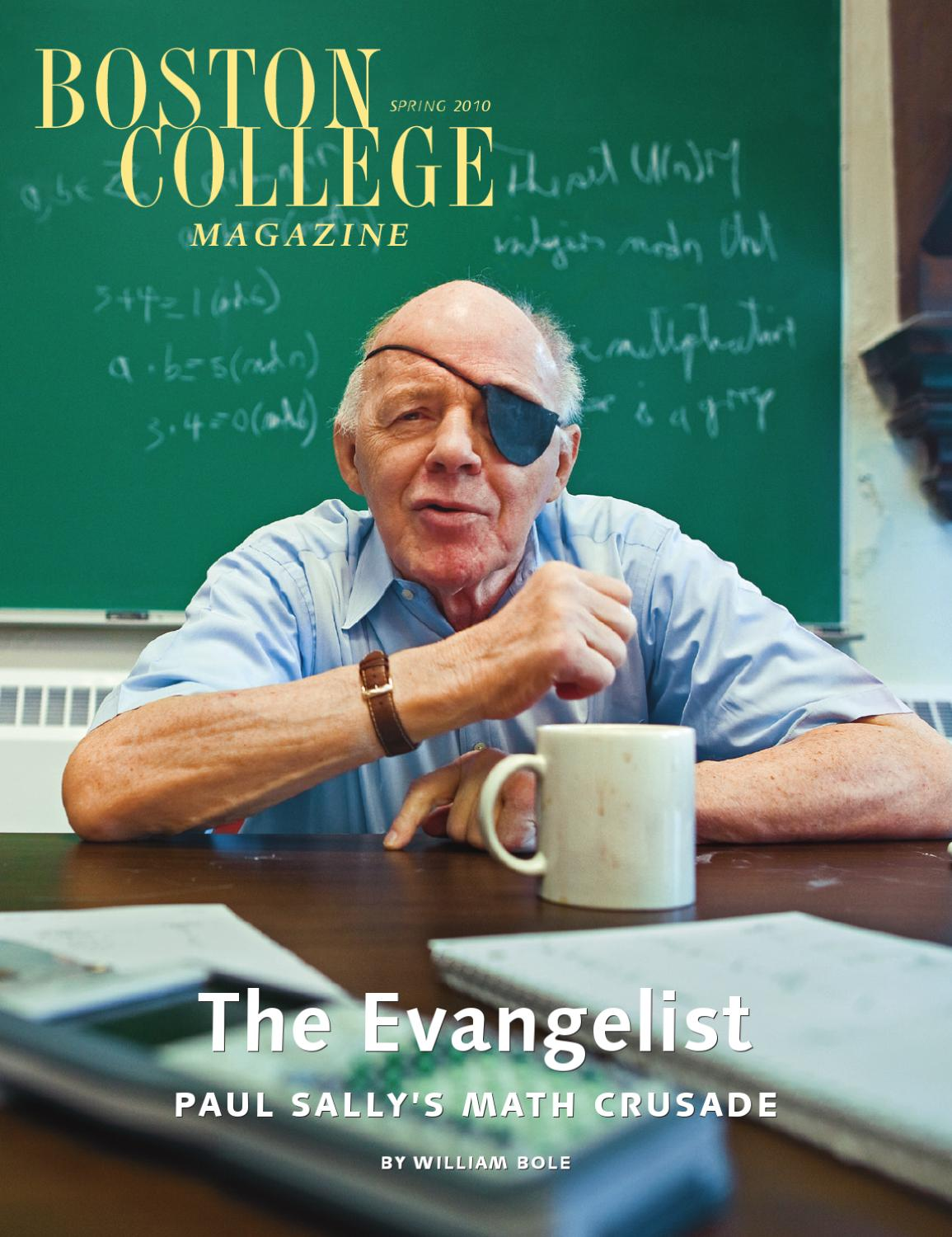 Boston College Magazine Spring 2010 Issue By