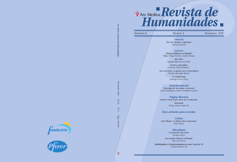 6-2 Dendra Medica / Ars Medica Vol 6, Num 1 by Jose Manuel Perez Rua ...