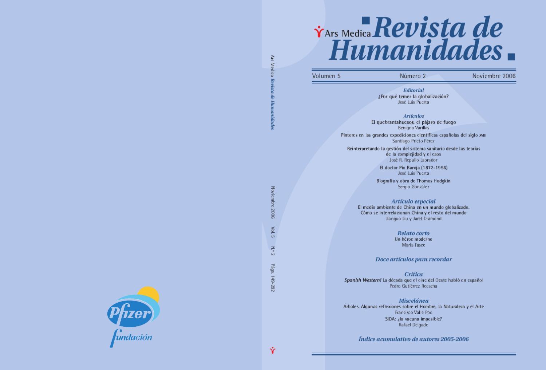 5-2 Dendra Medica / Ars Medica Vol 5, Num 2 by Jose Manuel Perez Rua ...