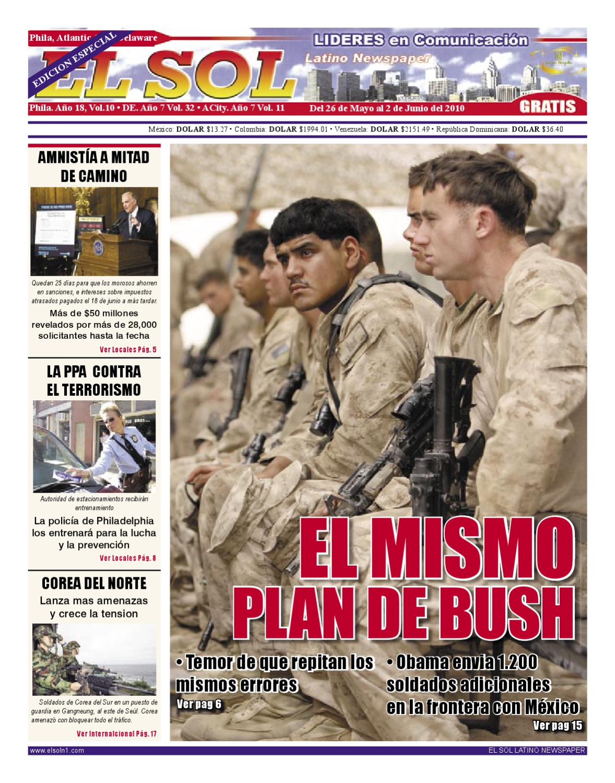 Edición Online No. 20 - 2010 by El Sol Latino Newspaper - issuu