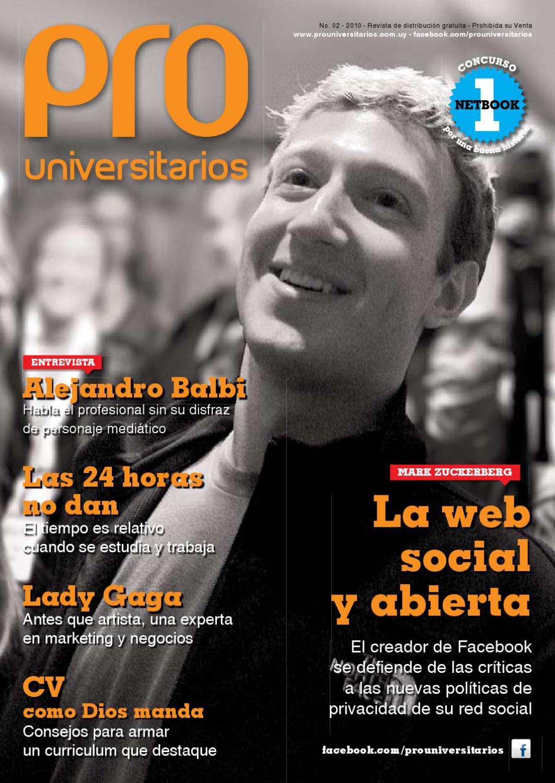 PRO Universitarios #2 by Medios y contenidos - issuu