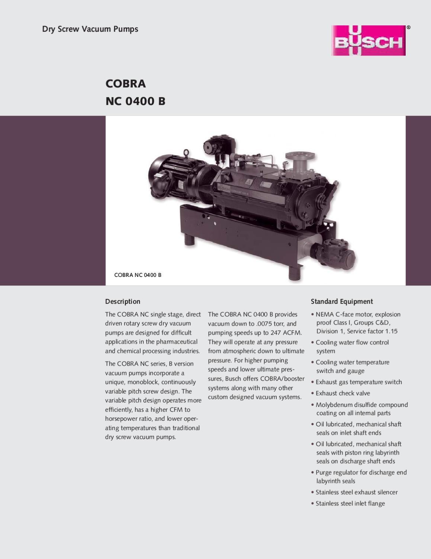 cobra nc 0400 by mc schroeder equipment company issuu