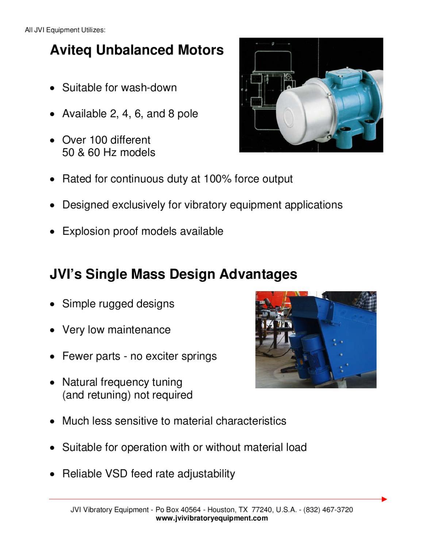 Jvi Uv Plus Single Mass Adv By Mc Schroeder Equipment -6516
