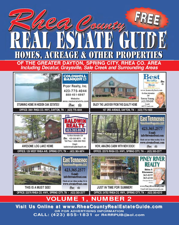 Rhea County Real Estate Guide by R&R Publishing - issuu