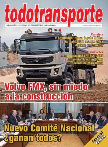 Todotransporte 306 By Versys Ediciones Técnicas Sl Issuu