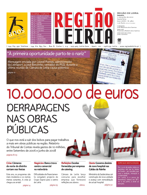 Região de Leiria de 11 de Junho de 2010 by Região de Leiria Jornal - issuu e2222a0e55330