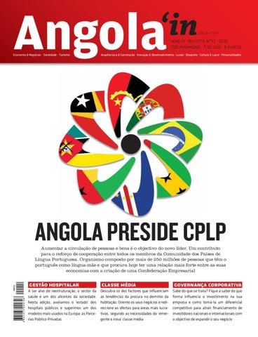 9df1f919a8a4b Angola in - Edição nº 12 by Comunicare - issuu