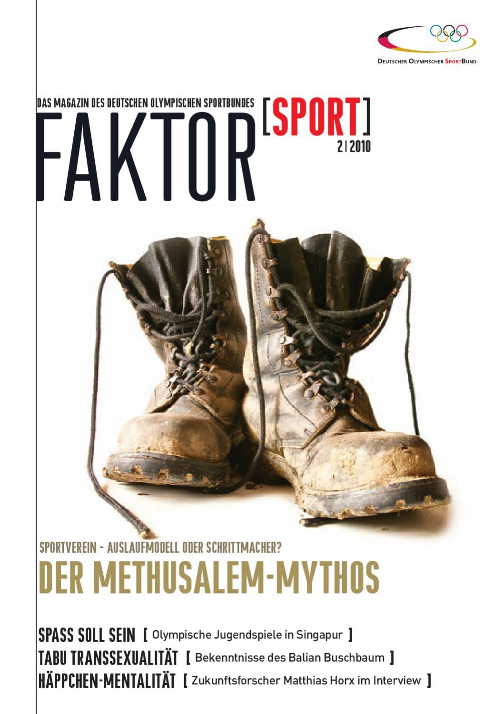Faktor Sport: Das Magazin des DOSB (Ausgabe 2) by Deutscher