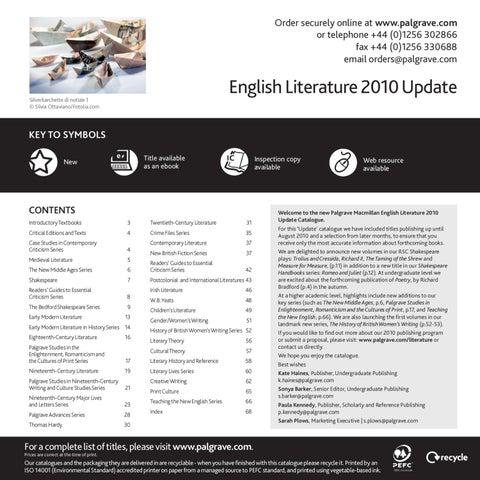 English literature 2010 update by macmillan international higher page 1 fandeluxe Gallery