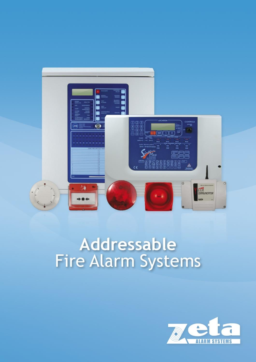 Addressable Fire Alarm Systems By Zeta Alarm Systems