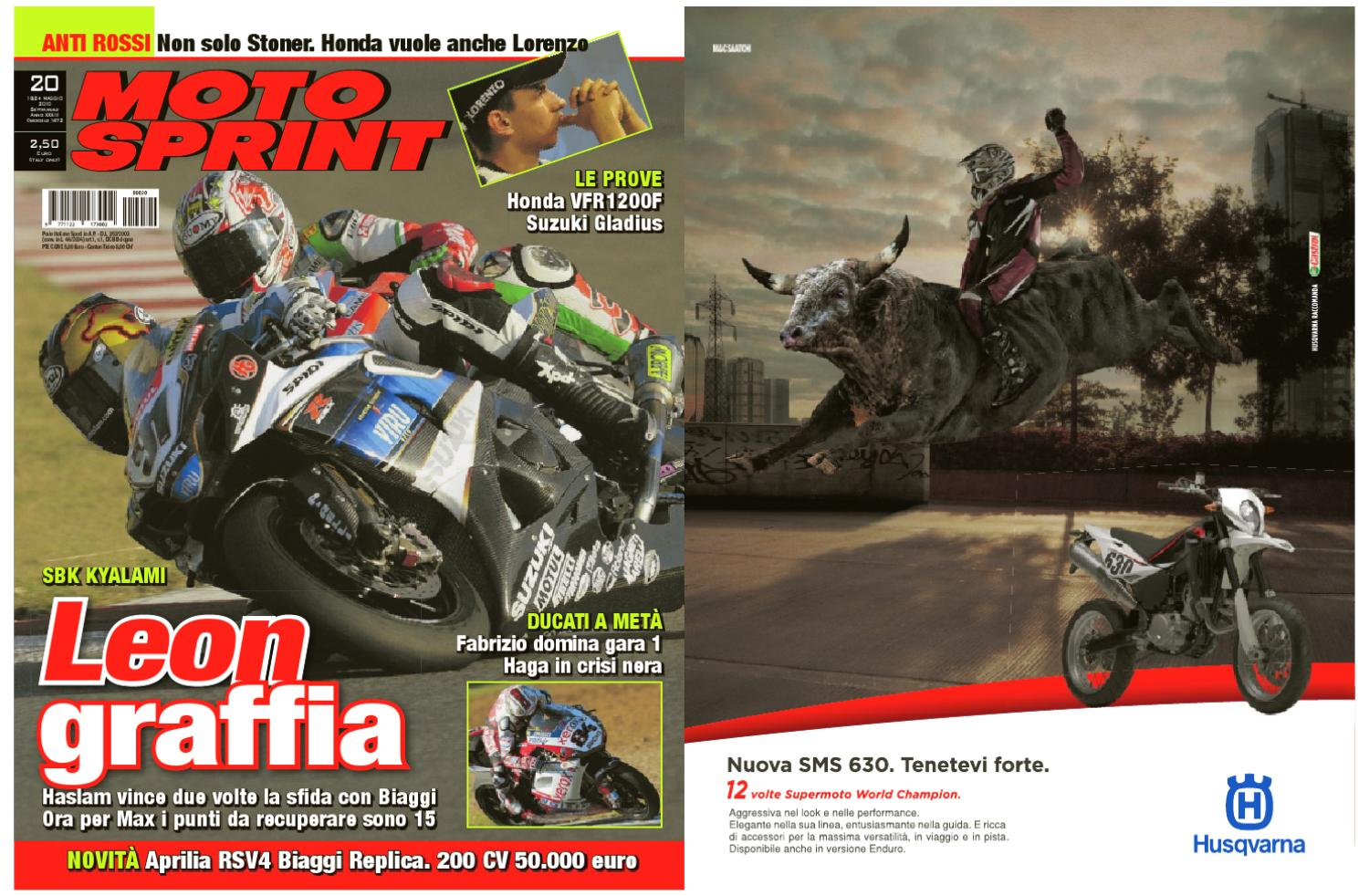 18 Maggio - Motosprint 20 by Divisione Multimedia Sport Network SRL - issuu 20ef0f8a5339