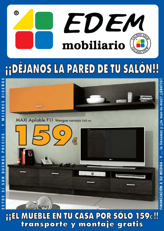 Edem mobiliario by arturo mart n issuu - Muebles fuerteventura ...