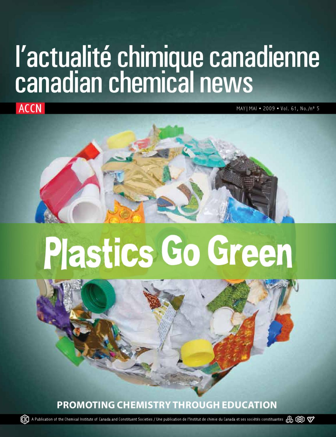 May 2009 By Chemical Institute Of Canada Issuu