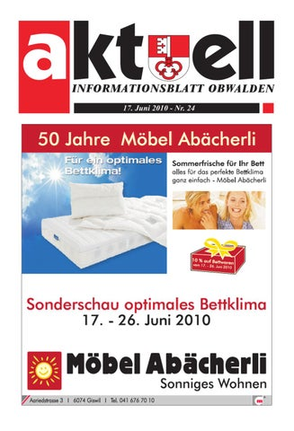 Aktuell Obwalden by Aktuell Obwalden AG - issuu